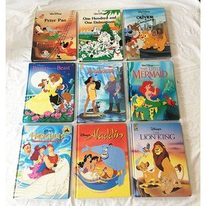 CHOOSE 3 DISNEY Classic Series HARDCOVER Books